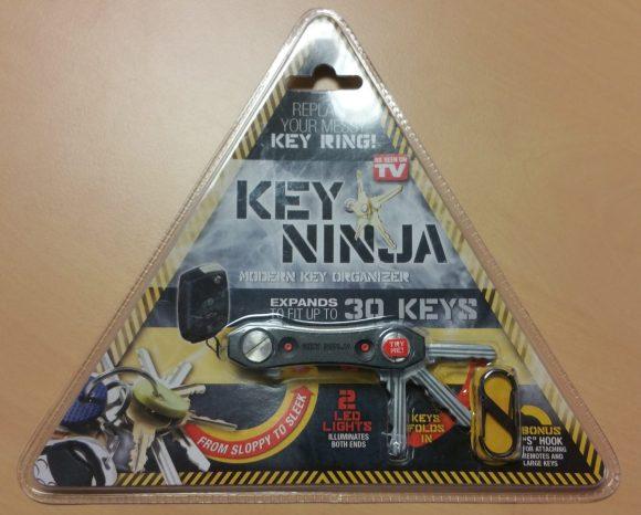 Emballage porte-clé Vante Ninja