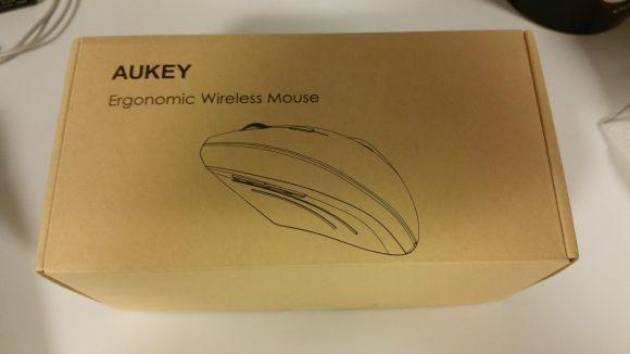 Emballage de la souris ergonomique verticale sans fil Aukey