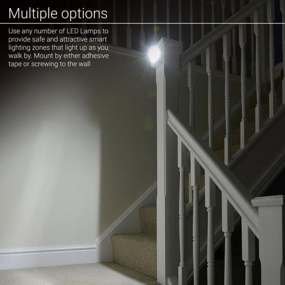 Test de la lampe de nuit à LED AGL avec détecteur de mouvements 7