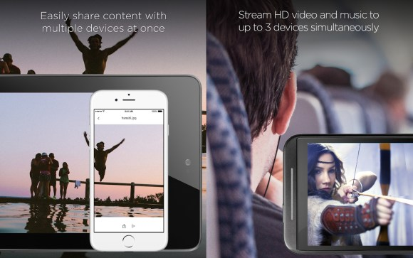 L'application SanDisk Drive Connect permet de gérer et de lire en streaming les fichiers contenus sur la clé en Wifi.