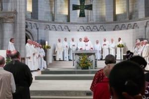 Eglise Saint Jean Berchmans célébration St Ignace