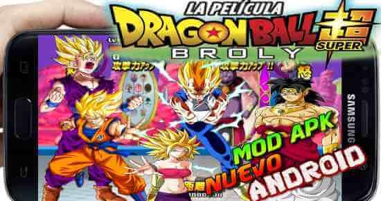 Dragon Ball Tap Battle 2019 Mod super Broly descarga
