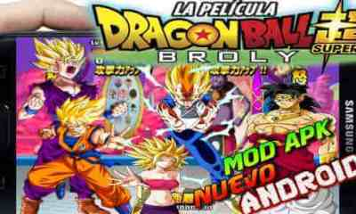 Dragon Ball Tap Battle 2019 Mod super Broly descarga
