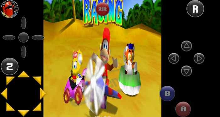 Kart Racing Kong 64