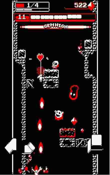 Downwell juego Android 2019