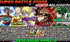 Anime Super Battle Stars Mugen