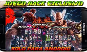 Tekken 7 Mod Hack Android 2019
