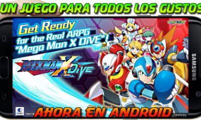 Mega Man X Dive