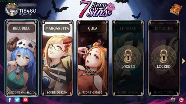 Download Mod 7 Sins un Atractivo juego