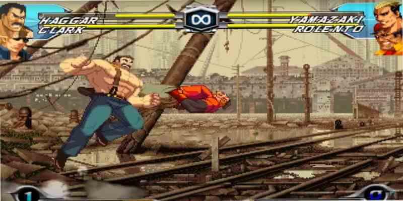 Mugen Capcom vs SNK