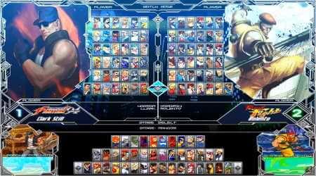 Mugen Capcom vs SNK multiverse