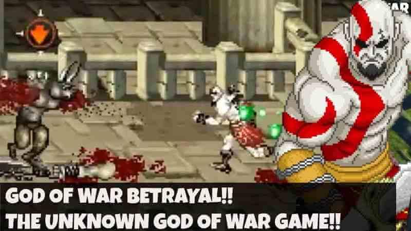 God of War Betrayal Apk sin emulador
