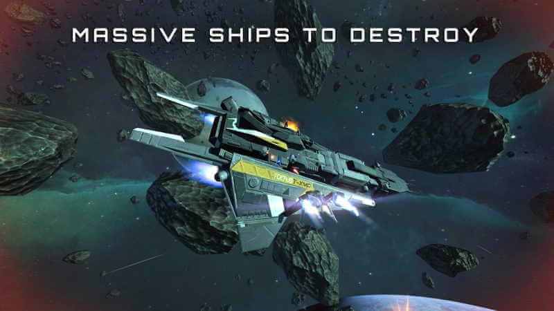 Subdivisión Infinity Space Shooter