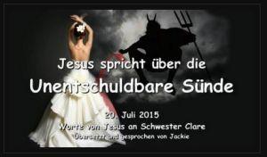 Liebesbriefe von jesus an schwester clare 2019