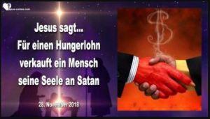 Seele dem Satan verkaufen
