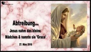 Zur Abtreibung gezwungen-Worte von Jesus