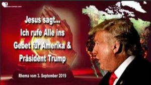 Gebete für Donald Trump