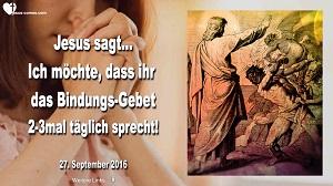 Bindungs Gebet