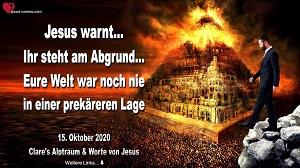 Clare's Alptraum & Worte von Jesus