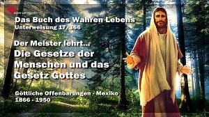 Gesetze der Menschen und das Gesetz Gottes