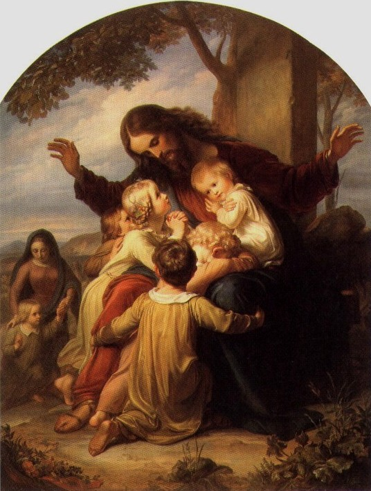 Famous Paintings Of Jesus With Children Bible Study Questions