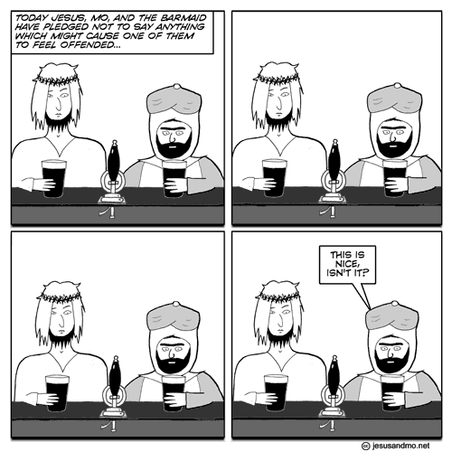 Jesus and Mo make my point twice.