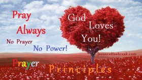 """Prayer principles"""