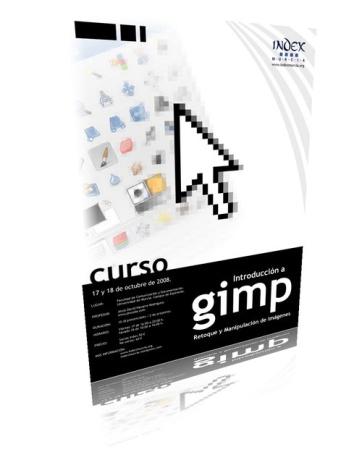 Cartel del Curso de Gimp