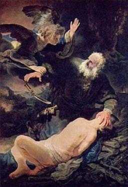 Rembrandt: Abrahams Opfer