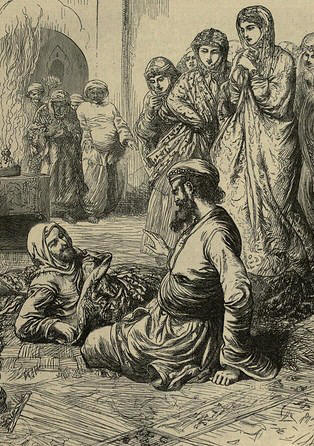 Resultado de imagen para Historia del Mandadero y de las Tres Doncellas