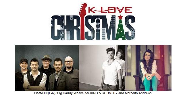 Klove Christmas Tour 2019.K Love Christmas Tour 2017 Lineup Joshymomo Org