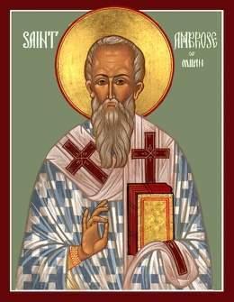 De los Comentarios de san Ambrosio, obispo, sobre los salmos.