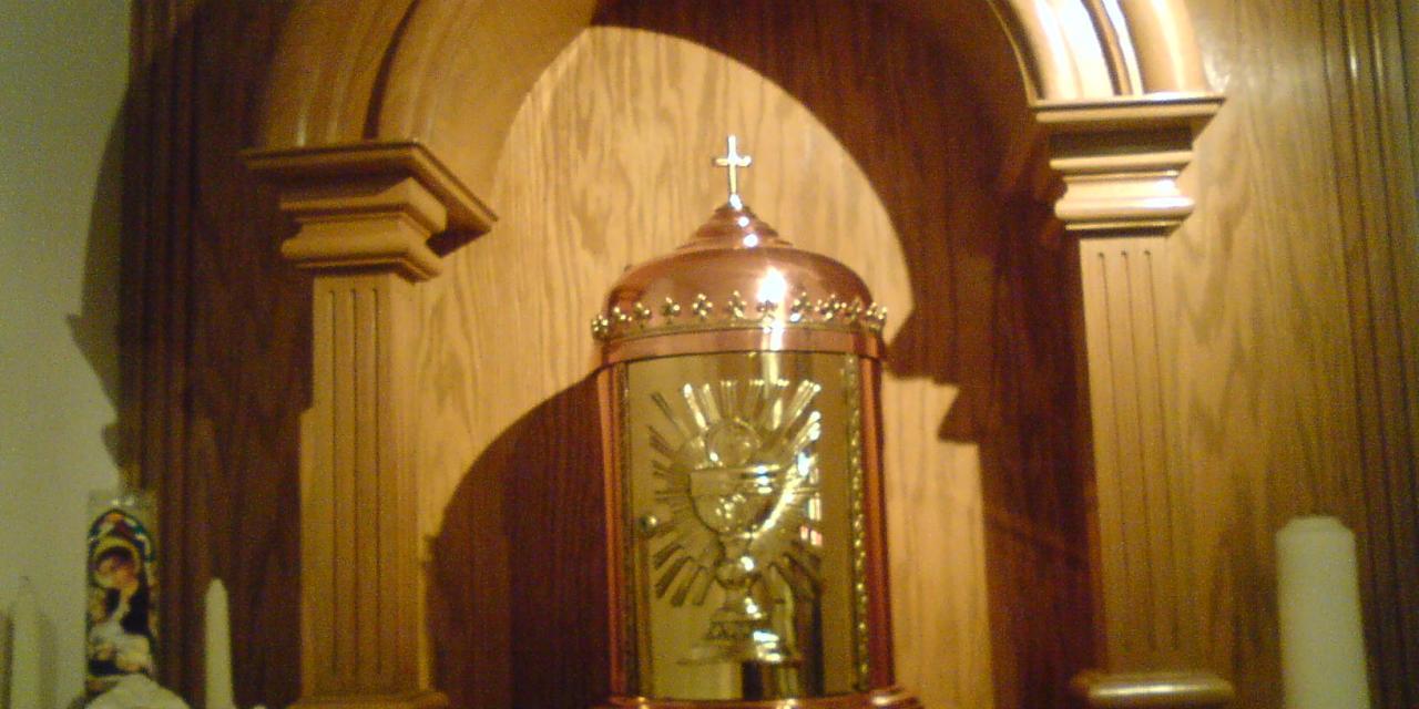 Oración de la noche al Santísimo