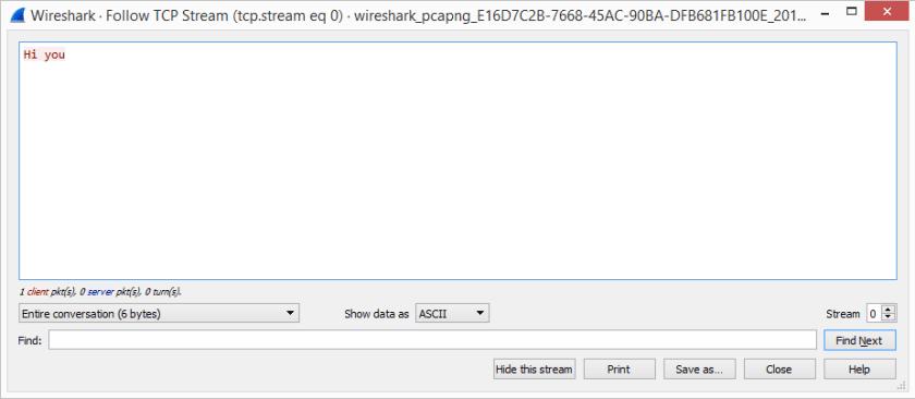 Analizar y filtrar el tráfico capturado TCP