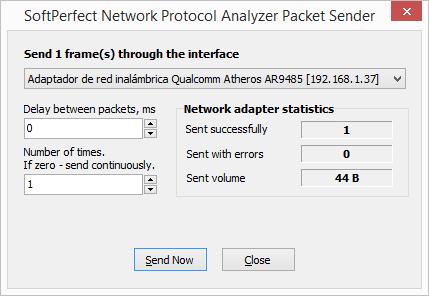 Enviar la información modificada al servidor mediante la opción send