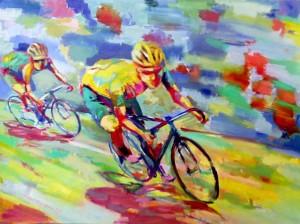 Descenso ciclista