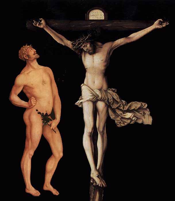 Resultado de imagem para image jesus and adam
