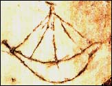 Ship image found in Christian catacombs