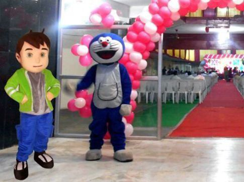 Live Cartoon Doll Characters Mascots In Hyderabad For Birthday Party Wedding Corporate Promotional Events