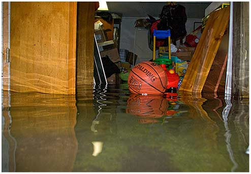 A Flooded Basement can be prevented - waterproof your basement today!