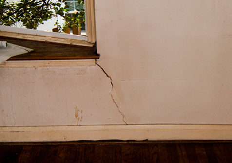 Cracked drywall can indicate your home's foundation needs underpinning, or additional structural support.