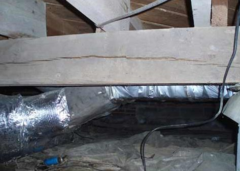 Sagging Floor Joists?