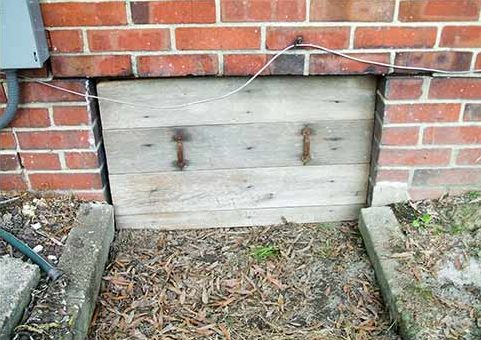 A vented crawl space lets in outside moisture which causes high electric bills