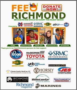 JES Foundation Repair partners with FEED Richmond for annual food drive.