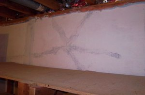 Basement Wall Crack Repair