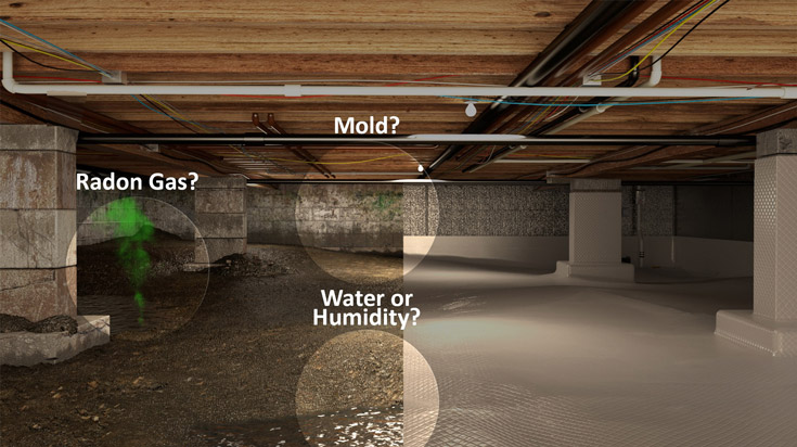 cost to repair a crawl space
