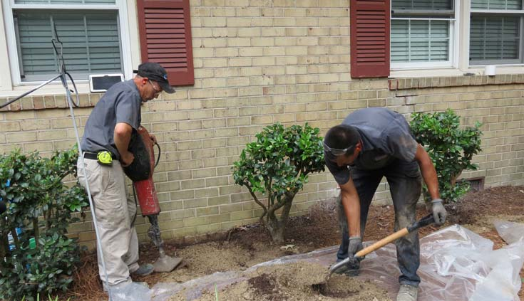 landscaping and your foundation