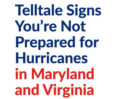 Signs You're Not Prepared for Hurricanes