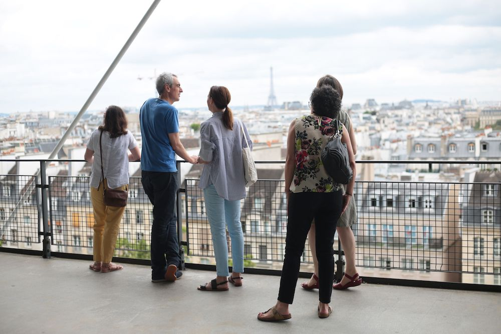 Allison vue Paris airbnb