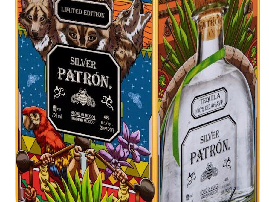 TEQUILA PATRÓN –  COFFRET LIMITE PAR JOEARTZ BERRELINI